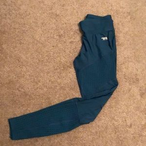 Worn once! Size 2/4 Running Bare workout leggings